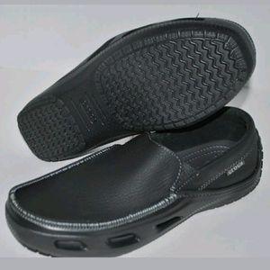 Crocs Tideline Sport Leather Loafers Sz